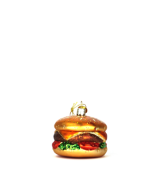 Weihnachtskugel Hamburger