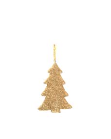 Weihnachtsdeko Tannenbaum Gold