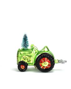 Weihnachtskugel Traktor