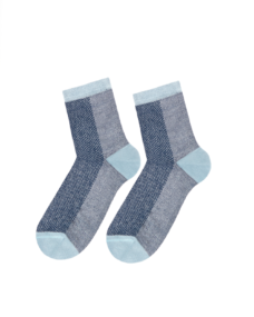 Too Hot To Hide Socken Charming Latisha Blue Melange Blau
