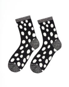 Too Hot To Hide Socken Lovable Paola Schwarz Gepunktet