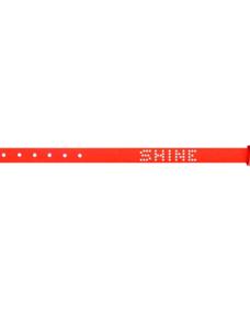 "Sorbet Bracelets Lederarmband ""Neon Orange"""